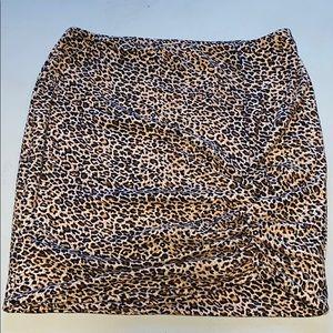 Woman's Dance & Marvel Cheetah Mini Pencil Skirt